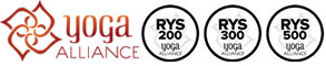 Accredited by Yoga Alliance USA & Yoga Alliance International